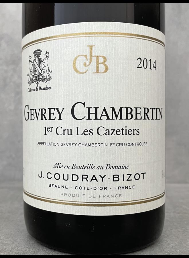 Gevrey Chambertin 1er Cru Les Cazetiers 2014