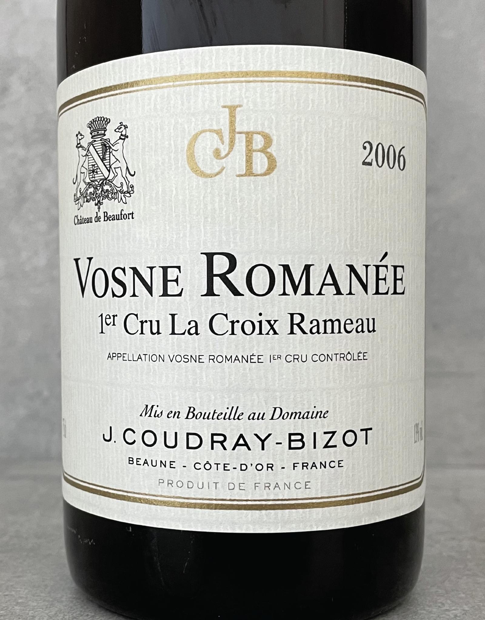 Domaine Coudray-Bizot Vosne Romanée 1er Cru La Croix Rameau 2014