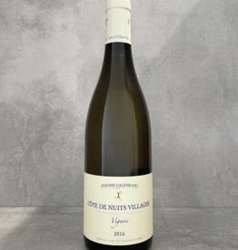 Jérôme Galeyrand Côtes de Nuits Villages blanc 'vignois' 2016