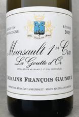 François Gaunoux Meursault 1er Cru La Goutte d'Or 2018