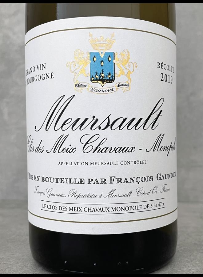 Meursault Clos des Meix Chavaux Monopole 2015