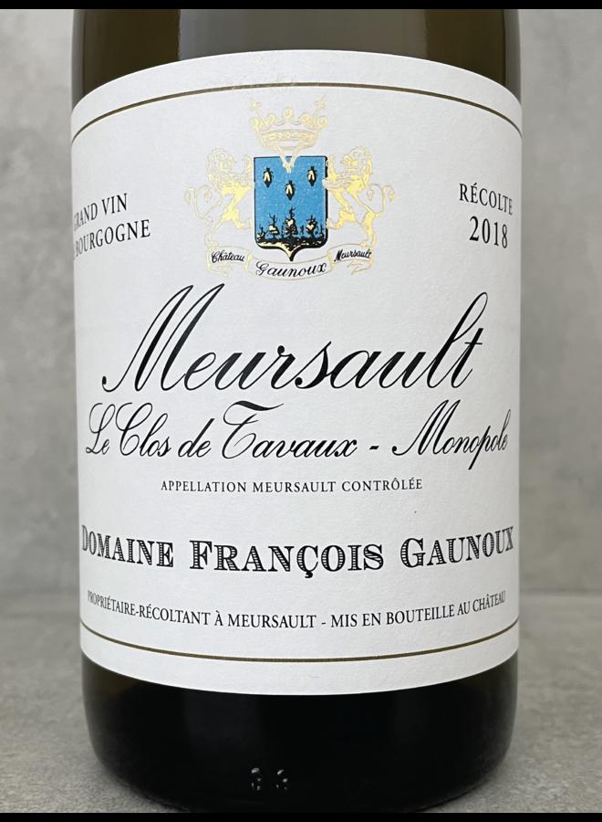 Meursault Clos de Tavaux Monopole 1999