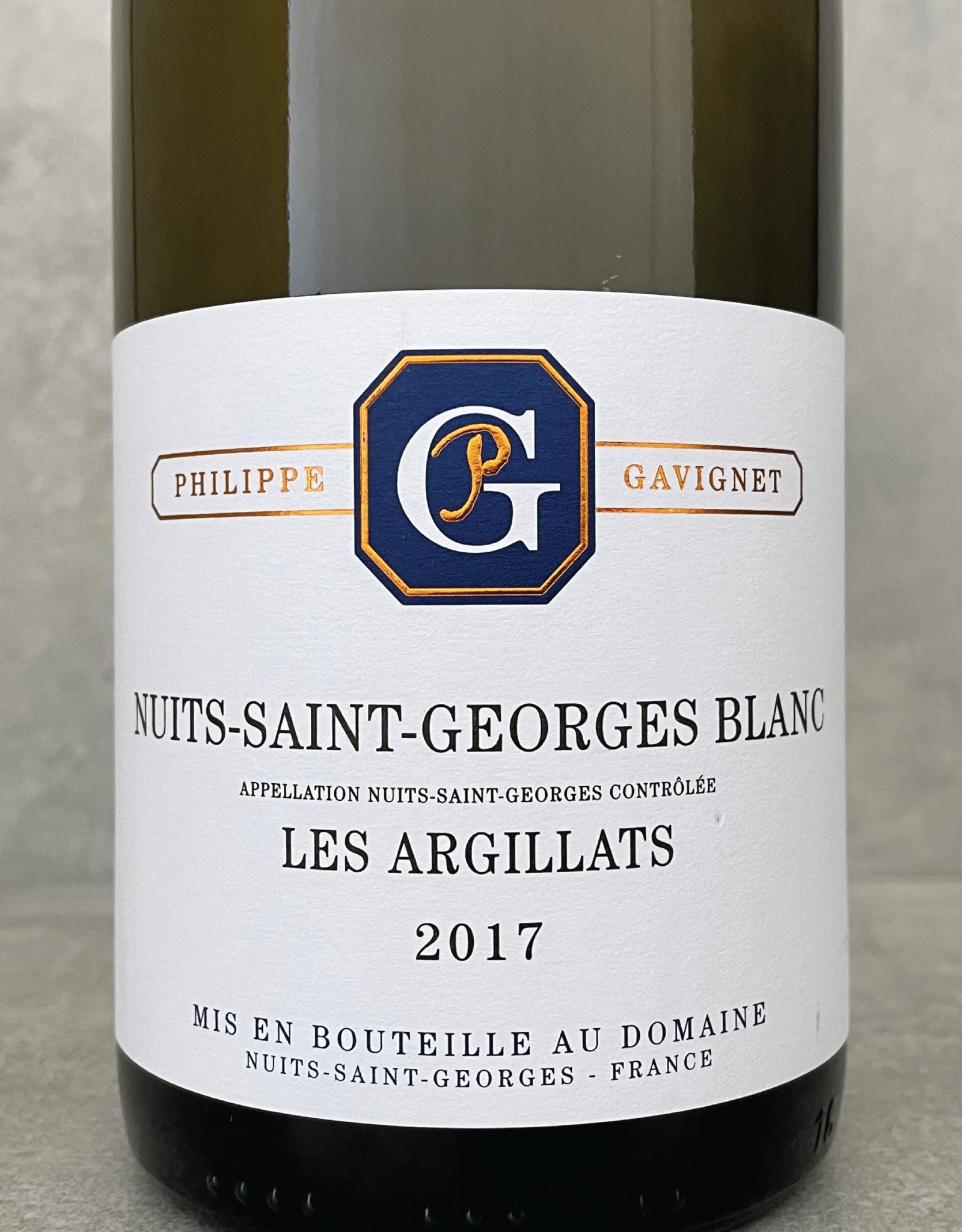 Philippe Gavignet Nuits Saint Georges Blanc Les Argillats 2017