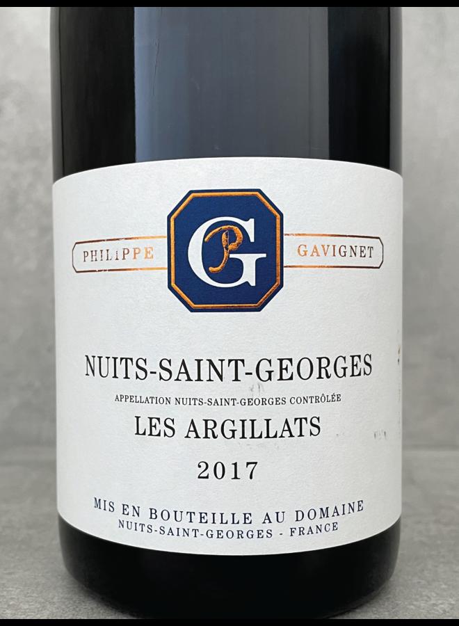 Nuits Saint Georges Les Argillats 2017