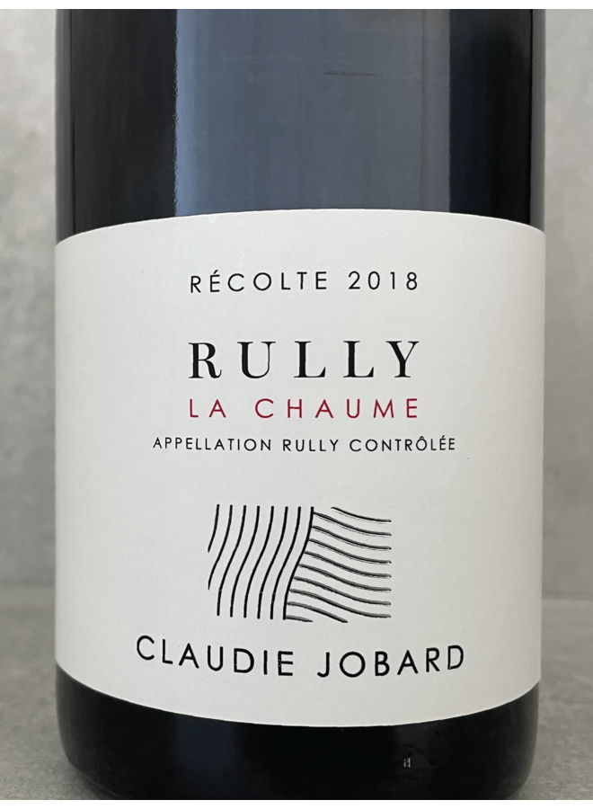 Rully rouge La Chaume 2019