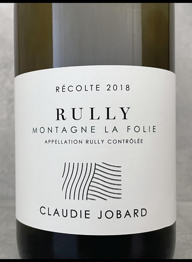 Rully blanc Montagne La Folie 2019