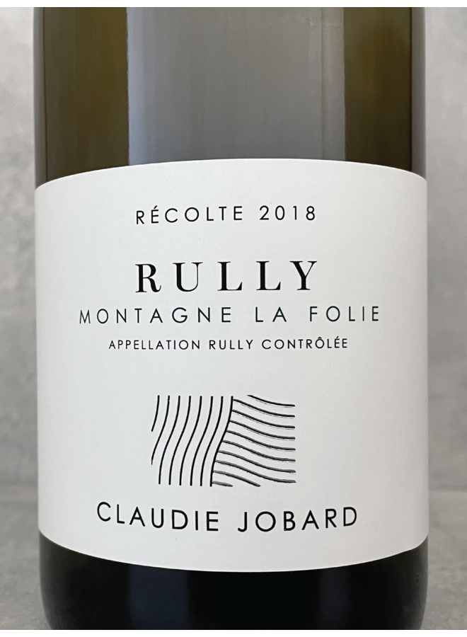 Rully blanc Montagne La Folie 2018