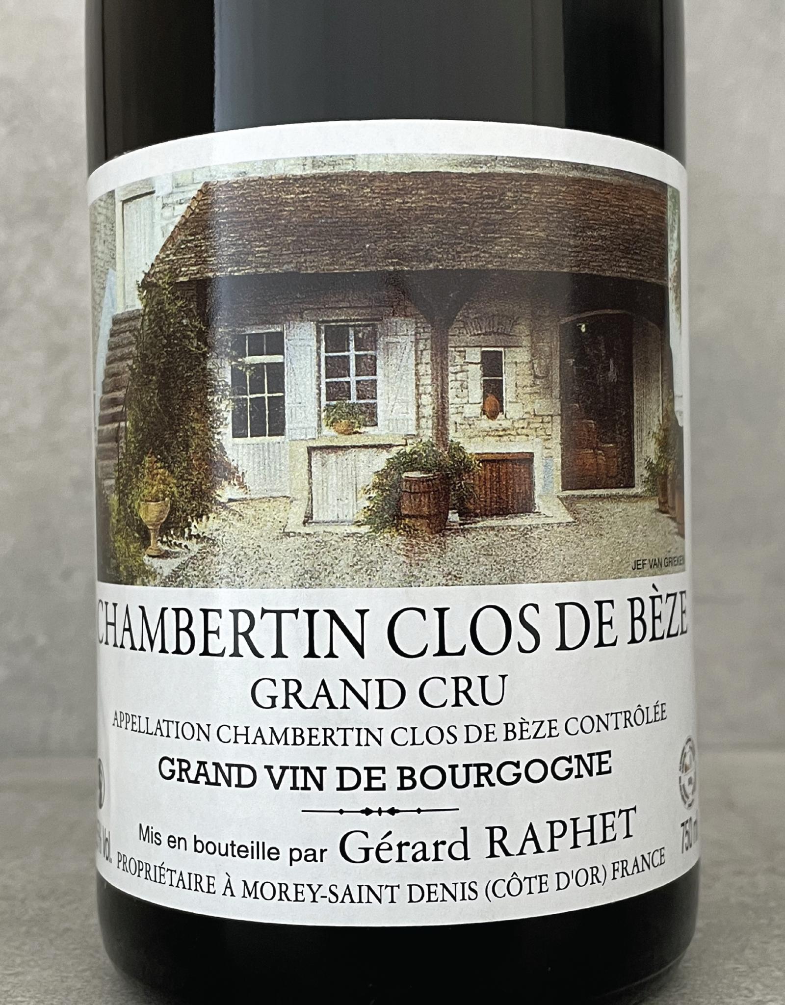 Gérard Raphet Chambertin Clos de Beze Grand Cru 2007