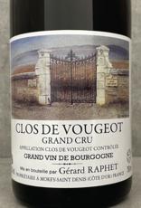 Gérard Raphet Clos de Vougeot Grand Cru 2017