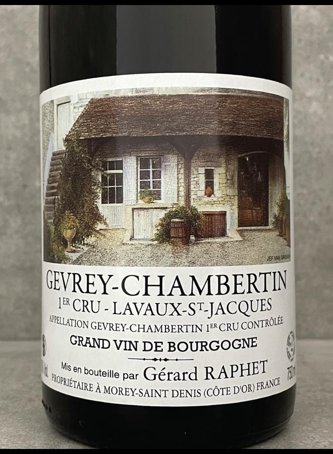 Gevrey Chambertin 1er Cru Lavaux St Jacques 2017