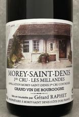 Gérard Raphet Morey St Denis 1er Cru Les Millandes