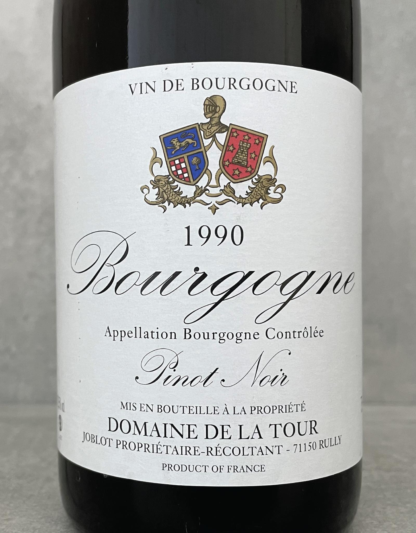 Domaine de la Tour Bourgogne Rouge Côtes Chalonnaise 1999