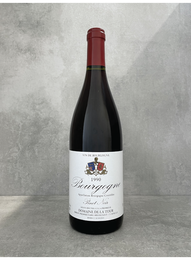 Bourgogne Rouge Côtes Chalonnaise 1990