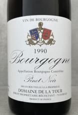 Domaine de la Tour Bourgogne Rouge Côtes Chalonnaise 1989