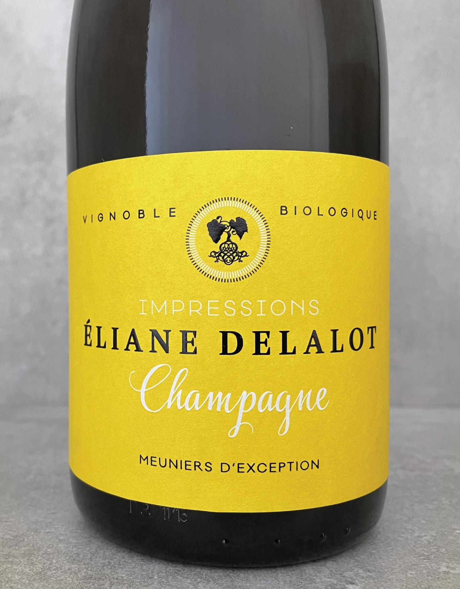 Champagne Delalot Impressions Meuniers d'Exception (tirage 1600 btl) n.v.