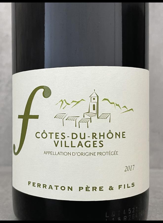 Côtes du Rhone Villages (bio) 2017