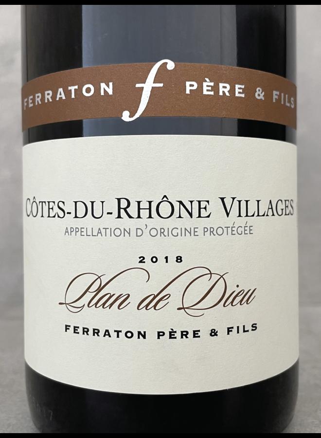 Plan de Dieu Cotes du Rhone Villages Rouge 2018