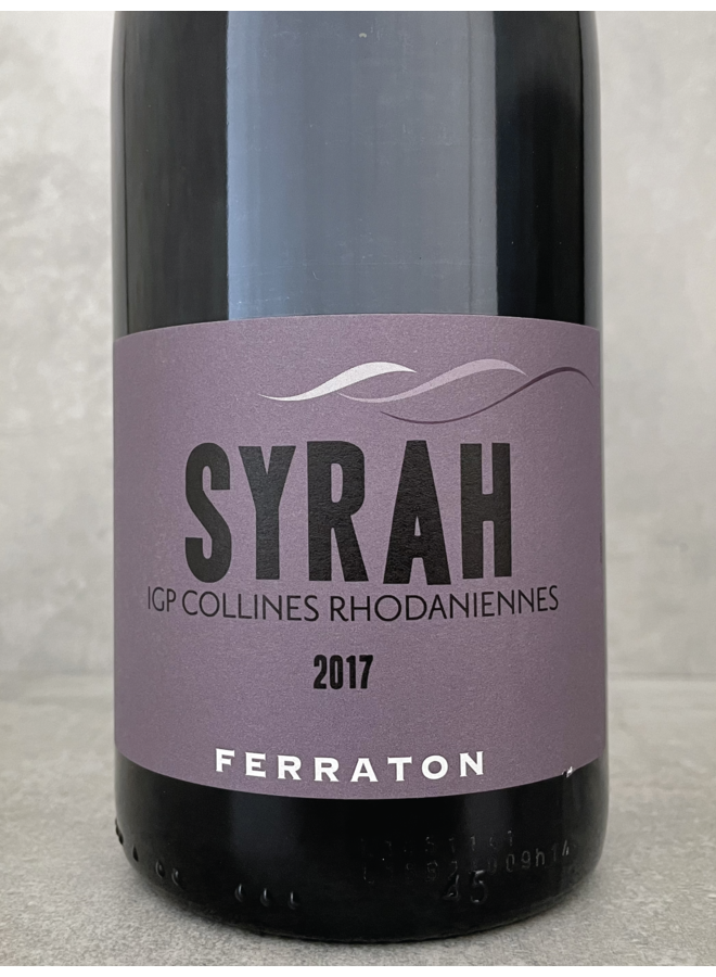 Syrah IGP Collines Rhodaniennes 2017