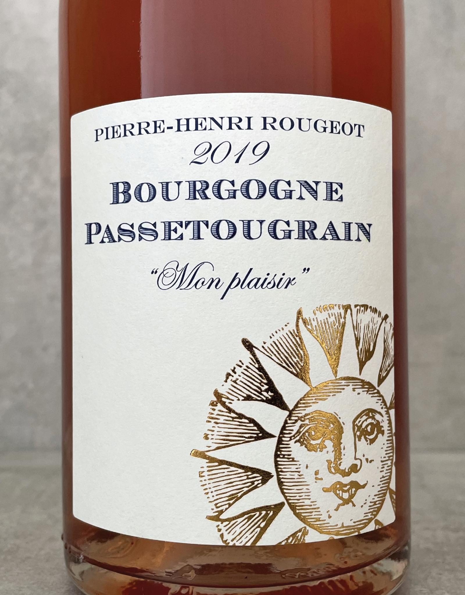 Pierre-Henri Rougeot Bourgogne Passetoutgrain rosé Mon Plaisir 2019