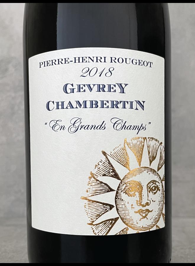 Gevrey Chambertin Grands Champs 2018