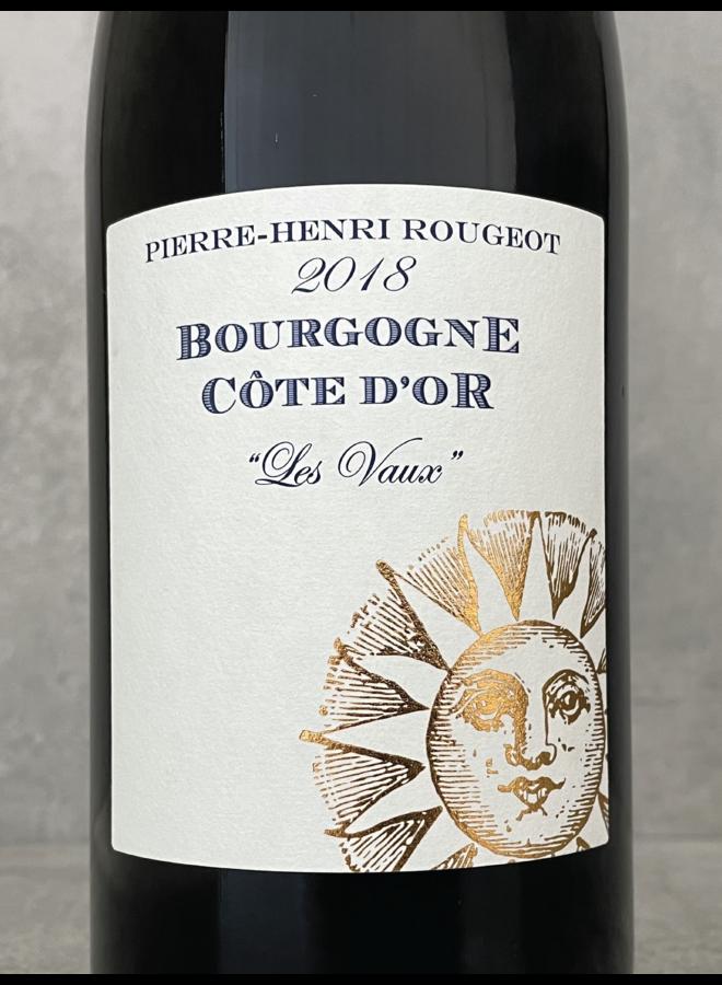 Bourgogne Cote d'Or Les Vaux 2018