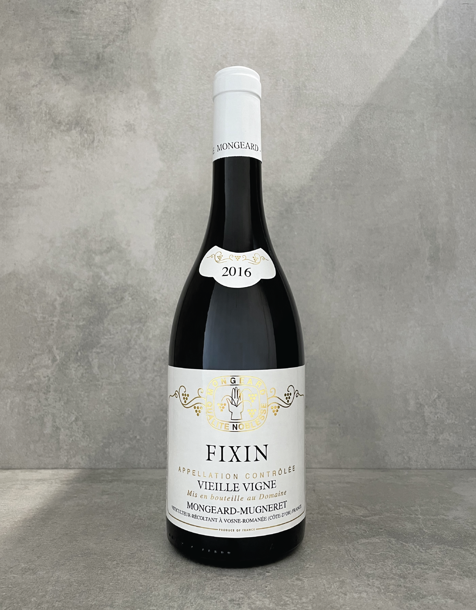 Mongeard-Mugneret Fixin vieille vigne 2017