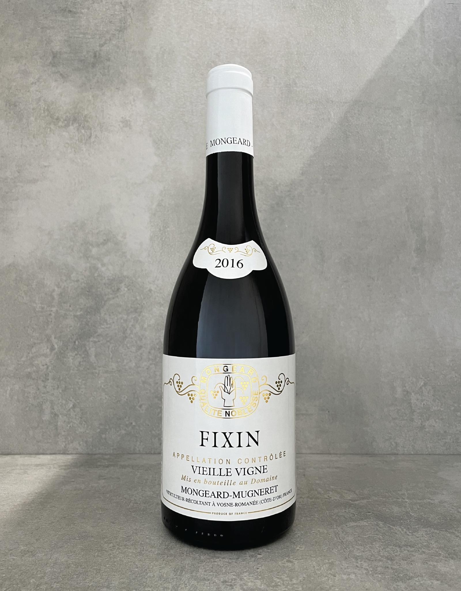 Mongeard-Mugneret Fixin vieille vigne 2016
