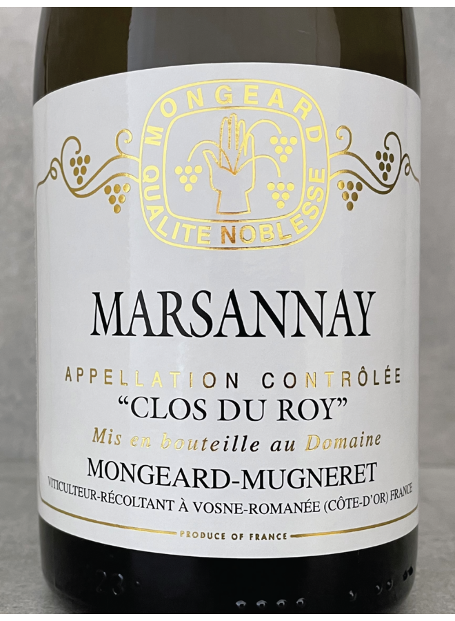 Marsannay Clos du Roy blanc 2017