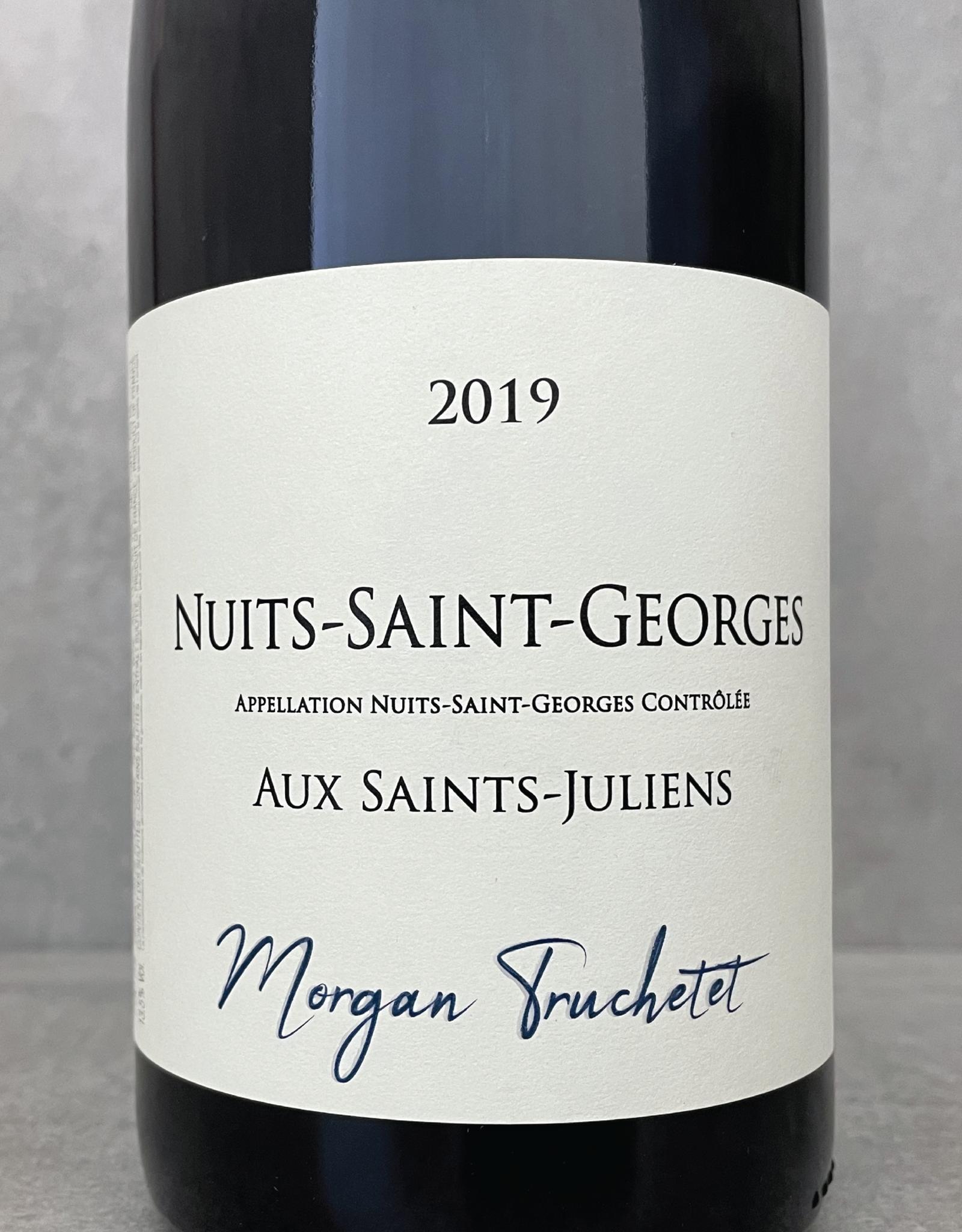 Morgan Truchetet Nuits Saint Georges Aux Saints Juliens 2019