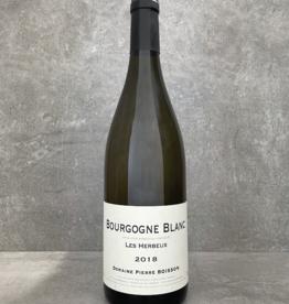 Pierre Boisson Bourgogne blanc Les Herbeux 2018