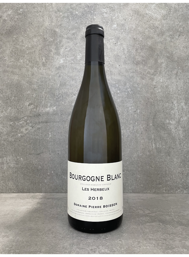 Bourgogne blanc Les Herbeux 2018