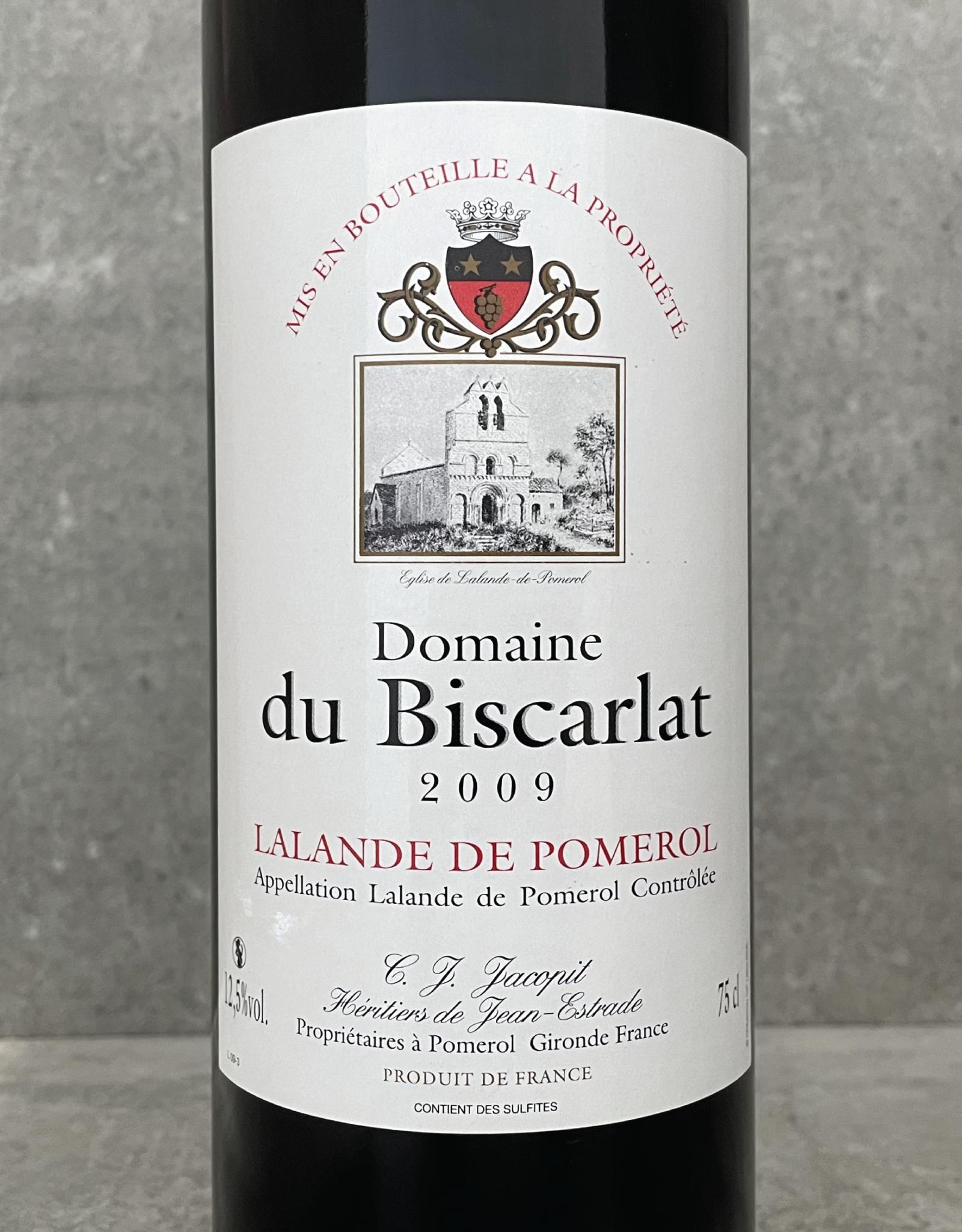 Domaine de Biscarlat Lalande de Pomerol 2009