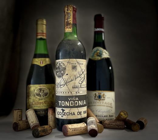 Vintage wijnen