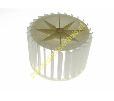 Zanussi ventilatorschoep  van wasdroger 1258550001
