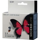 SecondLife Secondlife inktcartridge voor Canon 24BK zwart BCI24BK