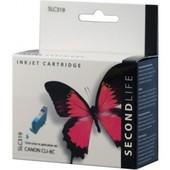 SecondLife SecondLife inktcartridge voor Canon CLI8C blauw