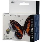SecondLife Epson inktcartridge Epson T026 zwart C13T02640110