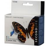 SecondLife Epson inktcartridge Epson T0482 blauw C13T04824010