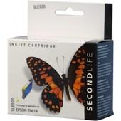 SecondLife Epson inktcartridge Epson T0614 geel C13T06144010