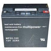 MULTIPOWER Multipower accu 12V 22Ah   MP22-12C