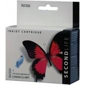 SecondLife Canon inktcartridge Canon CLI8PC licht blauw