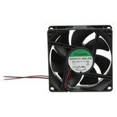 Universeel DC ventilator 80x80x25 mm 12V