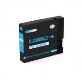 SecondLife Canon inktcartridge Canon PGI2500C XL blauw