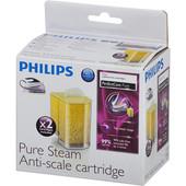Philips Philips antikalkcartridge voor stoomstation GC002/00 2-pack