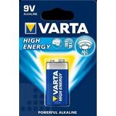 Varta Varta batterij 9Volt High-Energy Alkaline
