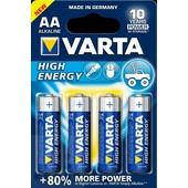 Varta Varta batterij AA Penlite  1.5 Volt High-Energy