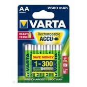 Varta Varta oplaadbare batterij AA 2600mAh