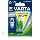 Varta Varta telefoonbatterij AAA 550mAh 1.2V NIMH