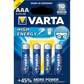 Varta Varta batterij AAA potlood 1.5V Alkaline High Energy