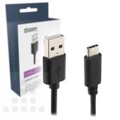 A-DAPT USB-C 2.0 laad- / datakabel 1m T138